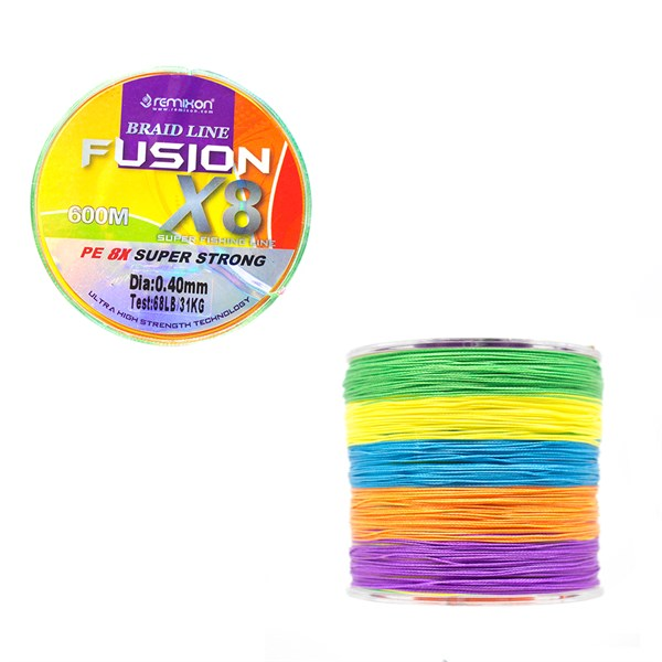 Remixon Fusion 600m X8 Multi Color İp Misina