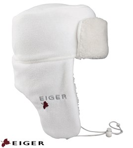 Eiger Fleece Korean Hat Snow White