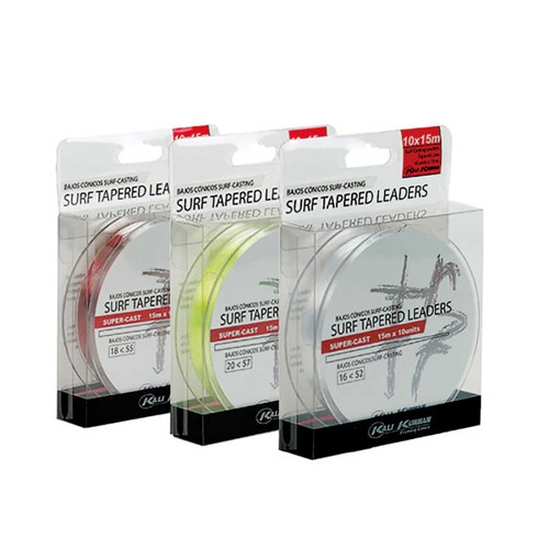Kali Kunnan Surf Tapered Leaders Monofilament Olta Misinası