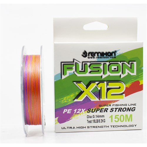 Remixon Fusion 150m  X12 Multi Color İp Misina