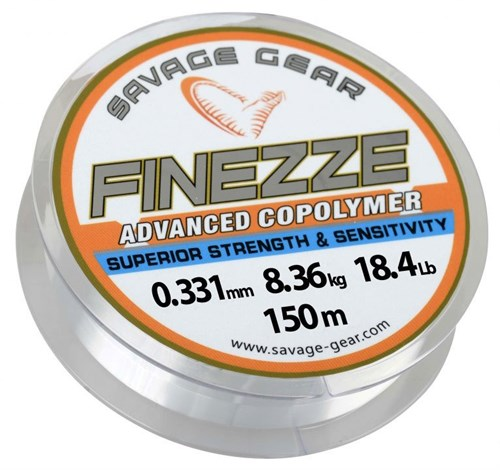Savage gear Finezze Mono 150 mt Clear Misina
