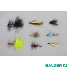 16800 004  BALZER FLY SİNEK YEM STREAMER ASSORTMEN