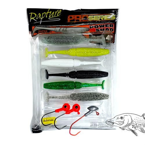 Rapture Power Shad 9 lu Silikon Yem Seti